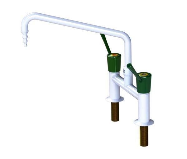Arboles UK - H Pattern Mixer Wrist Action Lever Tap - 910178MIX-W