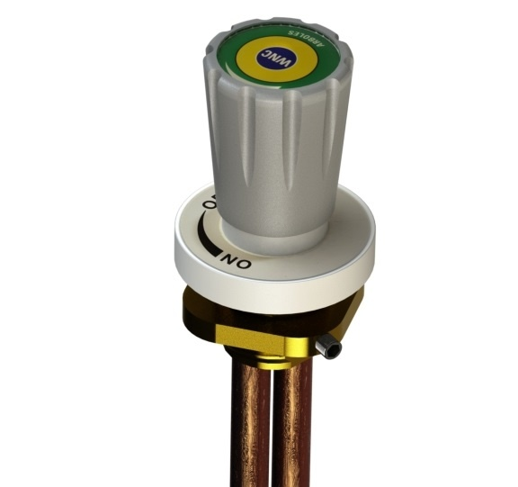 Fume Cupboard Front Control Valve