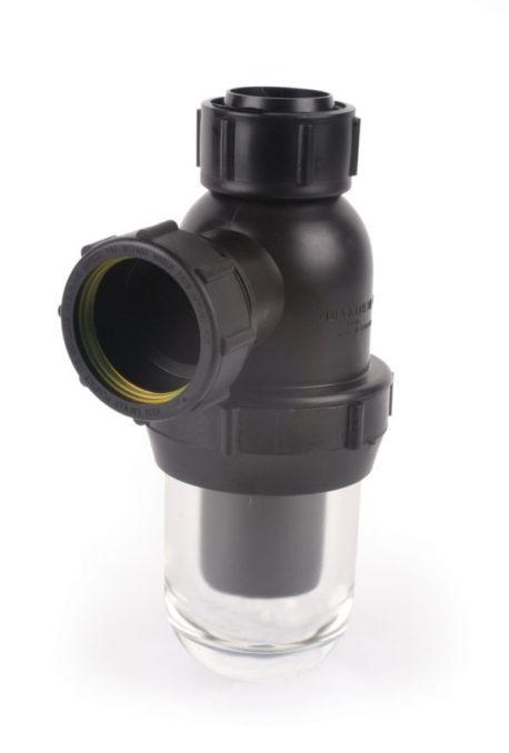 Durapipe Vulcathene Glass Anti Siphon Bottle Trap V1057101