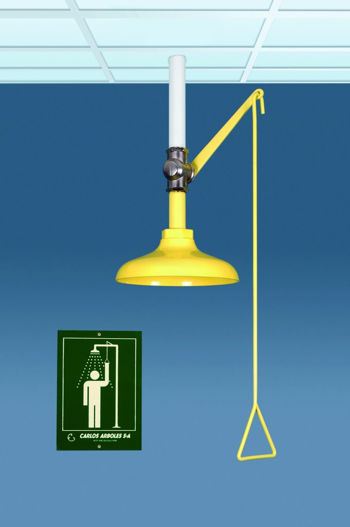 Ceiling Mounted Emergency Shower