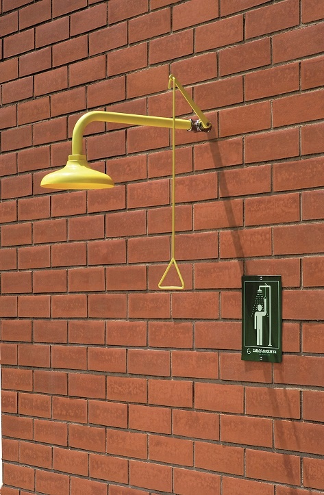 Wall Mounted Emergency Drench Shower