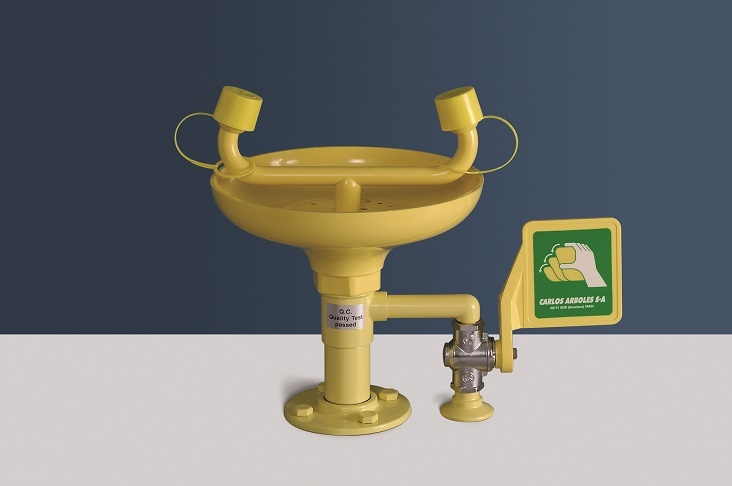 Arboles UK - Bench Mounted Eye Wash - 2212