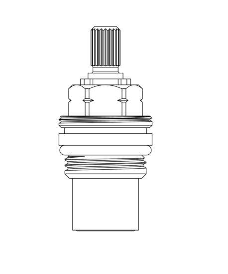 Arboles UK - 1/4 Turn Ceramic Headwork - 950149