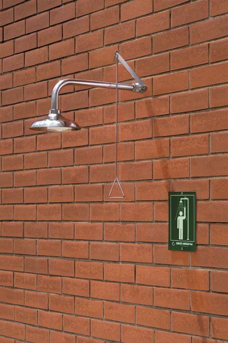 Arboles UK - Emergency Wall Mounted Shower - 1110 TI