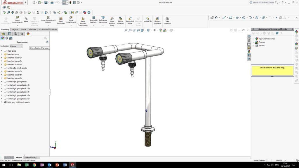 Arboles UK - Solidworks Designs