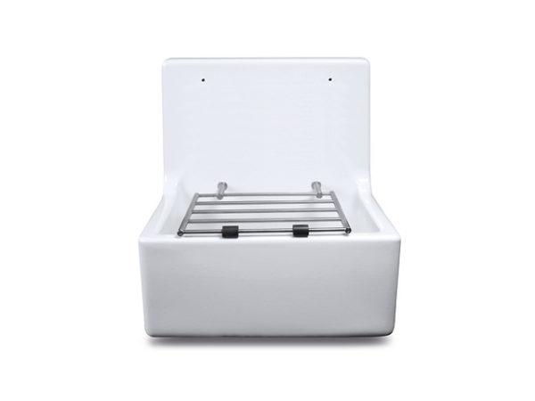Cleaner Sink - High Back