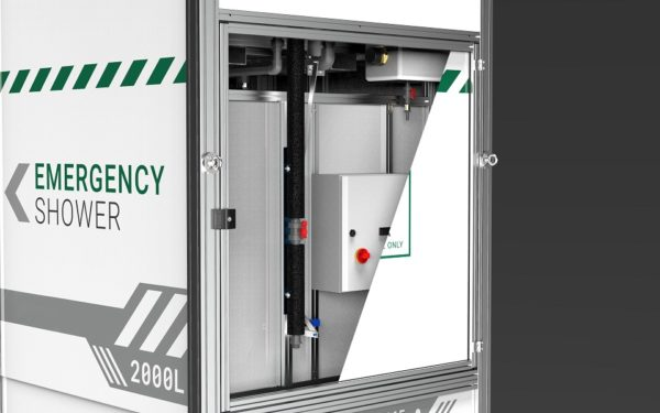 Arboles UK - Tank Fed Drench Shower - Rear Service Door